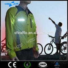 Waterproof winter LED garment cycling