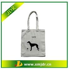 Personalised Greyhound Dog Organic Cotton Shopping Bag