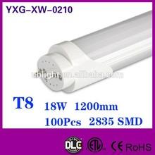 4ft t8 light110-120lm/w 100-277V AC