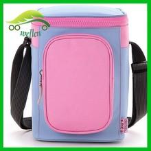 Large capacity travel vehicle cooler bag, baby care breast milk cooler bag