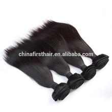 AAAAAA 100% raw unprocessed virgin remy weft natural european hair