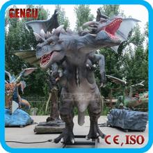 Outdoor Amusement Park High Simulation Dragon Robot Model