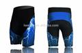 best selling 2014 moto vestuário personalizado sublimação calções de ciclismo