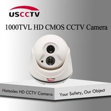 Provide 1 piece Powerful Array Light 15 m IR Night Vision 1000 TVL CMOS Sensor Dome CCTV Camera