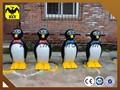 penguin skate para crianças usando