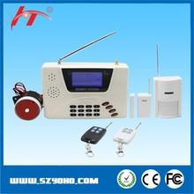Russian, Spanish, English language voice wireless digital home security alarm system, sim card gsm intruder burglar alarm system