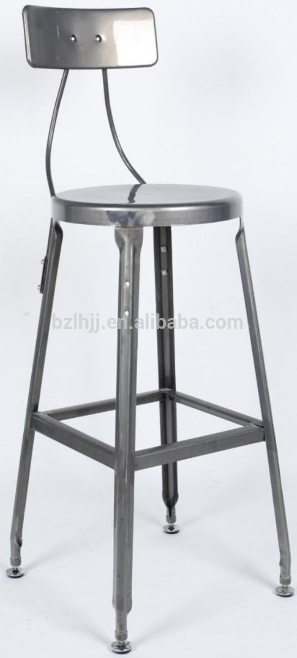 Antique french high back marais style counter bar stool - Marais counter stool ...