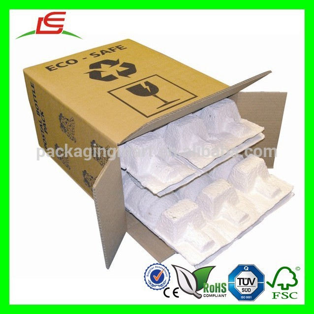Molded Pulp Boxes D029 Quality Paper Molded Pulp