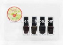 long lasting Quicksand Nail Polish nontoxic nail polish with removing set YD