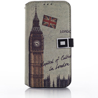 Folio Flip Leather Stand Card Wallet Magnetic Cover Case For Samsung S5 I9600