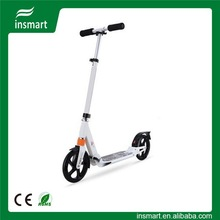 TWO BIG wheel suspension kick scooter for adults cheap folding scooter top selling high quality for sale