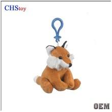 CHStoy small keyring fox tail keychain toy