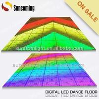 Animation panel RGB digital led dance stage floor