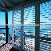 Factory hot sell metal window louver shutters & aluminum louver