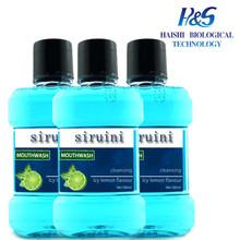 Breath Freshner Mouthwash Factory Supplied MSDS Antibacterial Breath Freshner Mouthwash