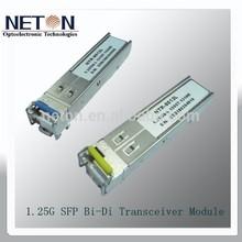 Factory Supply 1.25G SFP BIDI Compatible cisco