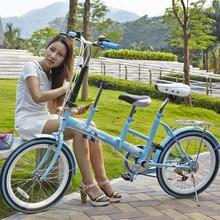 2015 Cheap 20 folding bike folding tandem bike