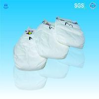 Leak Guard and PE backsheet baby diaper