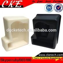 OEM Mechanical Fabrication White & Black Telfon Machining Parts