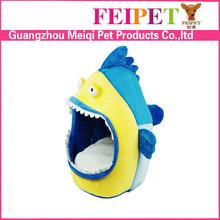 Wholesale funny shark shape animal shaped cat beds pet supplies Alibaba china