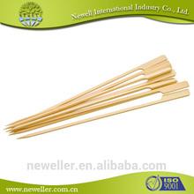 2014 Newell bamboo barbecue skewer food grade bbq kebab set