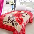 Hot vente bonneterie vison couverture de laine de l'industrie textile en inde