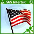 la mejor calidad de poliéster 75d china hizo de la promoción baratos nueva regalo de la bandera americana de mercancía