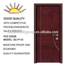 popular wooden fire rated door used hotel rooms SC-P112