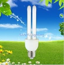 hot sale 2u halogen cfl light!china manufacturer 20w energy saving bulb