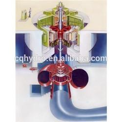 Hydro Francis Turbine/Mini Hydro Wheel/ Generator Water Wheel for Hydropower Plant