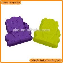 lion shape silicone bakery tools