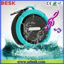 2014 ODM new metal protable waterproof bluetooth speaker,mini wireless shockproof speaker