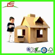 N479 Lovely New Cardboard Play House For Kids