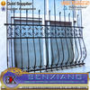 Heat Treated Pressure Treated Wood Type and Metal Frame Material galvanzied picket fence