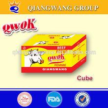 BEEF FLAVOR bouillon cube, 10g*60*24 seasoning cube