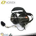 resistente al fuego anti ruido de radio de dos vías auriculares para motorola mtp850