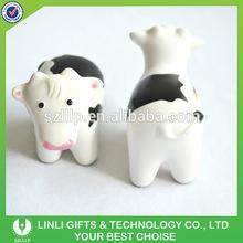 Custom Logo Promotion Mini Cow Stress Squeeze Toy