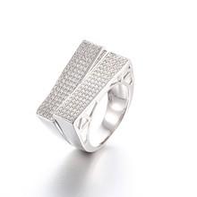 925 Sterling Silver Price Per Gram Men Ring Model Fake Diamonds Rings Price Unique Jewelry LWR0330