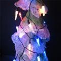 20 leds luz llevada carámbano/decoración/navidad/de hadas/festival/la novedad de la luz de la lámpara bombilla cadena tiras