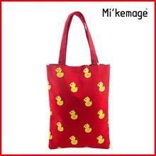 Wholesale beautiful ladies handbags /canvas lady handbag