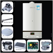 hot sale plate cooper heat exchanger gas boiler/water heater