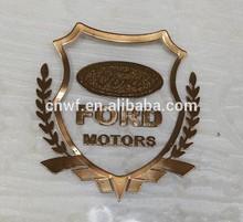 custom metal car emblem/car sticker logo emblem/Professional design for car