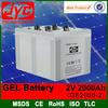 2v 2000ah msds sealed lead acid battery pv battery,used telecom batteries