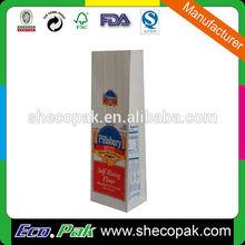 Hot sale paper flour sack, wheat flour paper sack