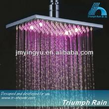 JFQ045CP automatic color changing rain showers head