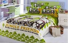 100% cotton Bed Sheet Set Green