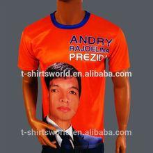 cheap t-shirt/election campaign t shirt,printing mans cheap tee shirt
