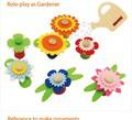 bricolaje juguetesdemadera forma de la flor de cuentas de la boda regalos de souvenirs