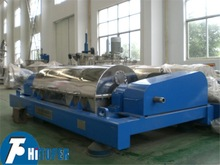 Decanter centrifuge operation , continuous separator