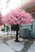Factory price artificial cherry blossom tree wedding decoration pink blossom tree